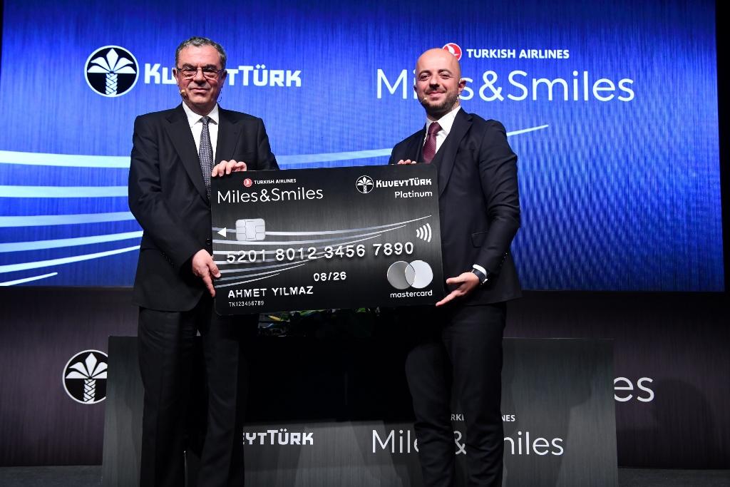 Kuveyt Türk ve Türk Hava Yolları güçlerini Miles&Smiles ile birleştirdi