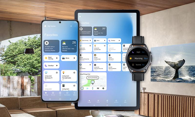 Samsung SmartThings ile Yeni Arayüzüyle Karşınızda!