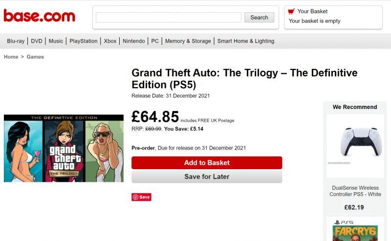 The Definitive Edition'ın Oyununun Satış Fiyatı Belirlendi