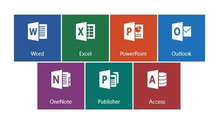 4. Microsoft Office Programları