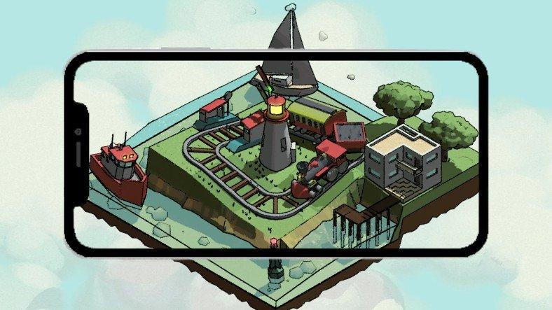 Gerçek 3D Görüntüler Sunan iPhone Oyunu: Loco Looper
