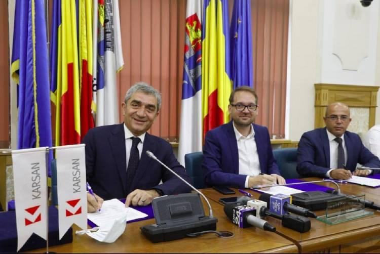 Türkiye'nin En Büyük Elektrikli Otobüs Anlaşması 35 Milyon Euro ile Karsan'ın