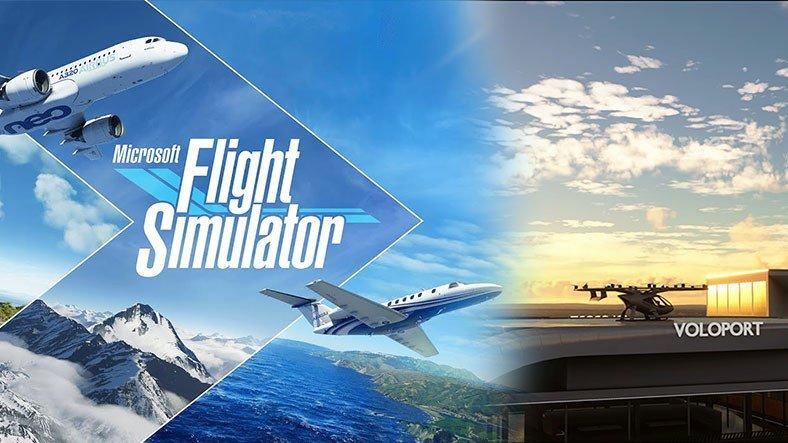 Microsoft Flight Simulator'a Yeni Güncelleme Geliyor