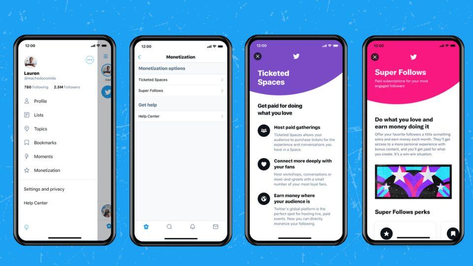 Twitter, Biletli Spaces özelliğini iOS kullanıcılarına açtı